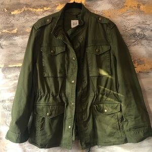 The Gap Military Style Jacket